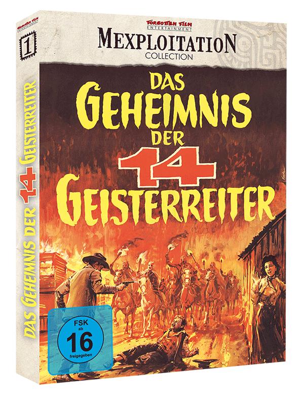 Das Geheimnis der 14 Geisterreiter - Cover A (BD)