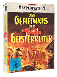 Das Geheimnis der 14 Geisterreiter - Cover A (DVD)